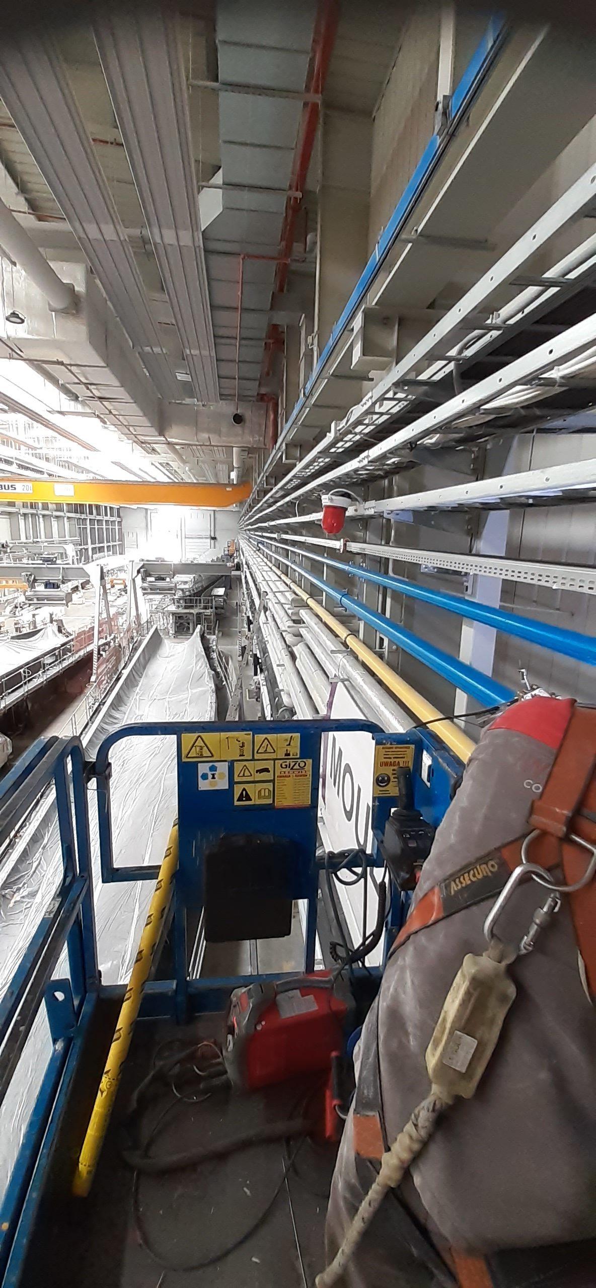 Montaż instalacji do transportu chemikaliów